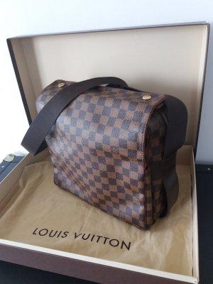 Original LOUIS VUITTON Naviglio Damier Ebene Canvas Messenger-Bag