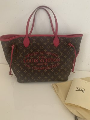 Louis Vuitton Shopper magenta-brown