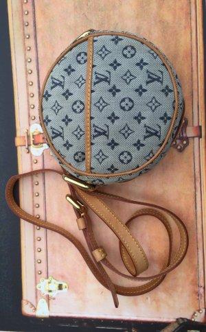 Original Louis Vuitton Paris Designer Logo Tasche mit Leder Datacode
