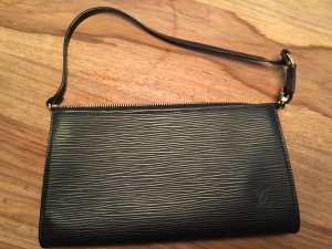 Original LOUIS VUITTON Pochette Clutch schwarz Epi Leder