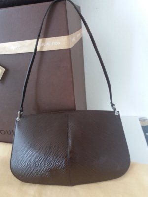 Louis Vuitton Pochette marrone scuro