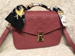 Original Louis Vuitton Pochette Metis Rose Bruyere