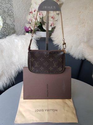 Louis Vuitton Bolso tipo pochette marrón