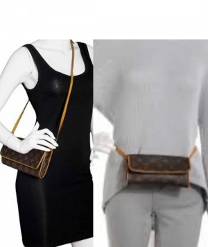 "Original Louis Vuitton ""Pochette Twin GM"""