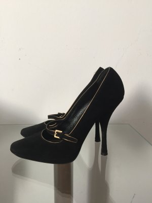 Louis Vuitton Tacones Mary Jane negro