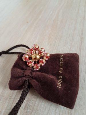 Original  Louis Vuitton  Ring vergoldet mit Swarowski Steinen