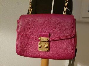 Louis Vuitton Sac bandoulière violet cuir