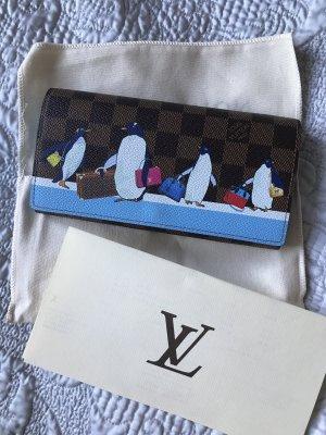 Original Louis Vuitton Sarah Geldtasche Geldbörse Pinguine Christmas
