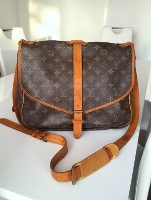 Original Louis Vuitton Saumur 35 Tasche Crossbody
