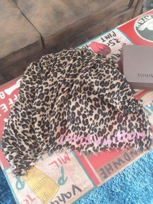Louis Vuitton Sjaal met franjes veelkleurig