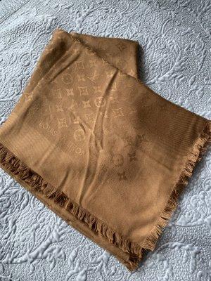 Louis Vuitton Fazzoletto da collo marrone-color cammello