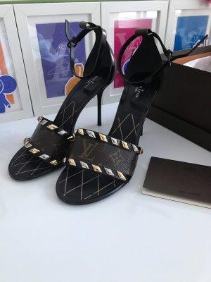 Louis Vuitton Sandalen met bandjes en hoge hakken veelkleurig