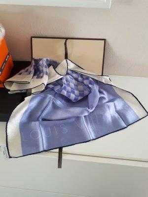 Louis Vuitton Chal veraniego blanco-azul pálido