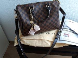 Original Louis Vuitton Speedy 30 Bandouliere Damier Ebene