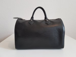 Original Louis Vuitton Speedy 30 Black Epi Leather / pre-loved condition