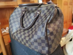 original Louis vuitton speedy 30 damier