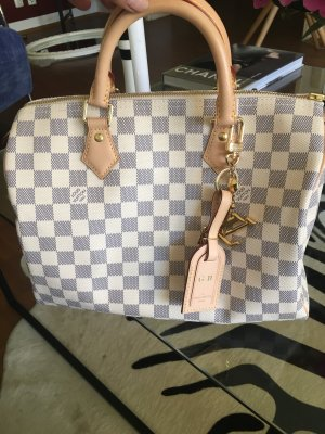Original Louis Vuitton Speedy 30 Damier Azur