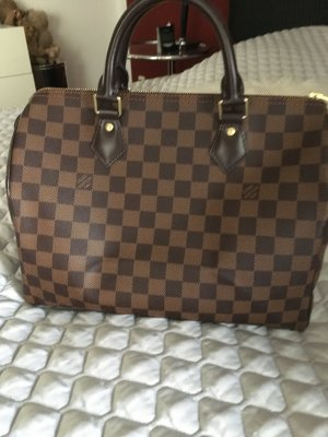 Original Louis Vuitton Speedy 30 Damier Ebene