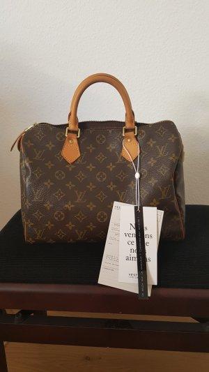 Louis Vuitton Borsa con manico marrone chiaro-marrone