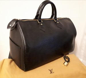 Original Louis Vuitton Speedy 35 Cuir Epi Noir