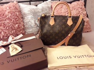*** Original Louis Vuitton Speedy Monogram 30 mit Schulterriemen Bandouliere ***