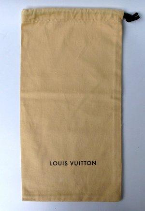 Louis Vuitton Borsa di tela sabbia Cotone