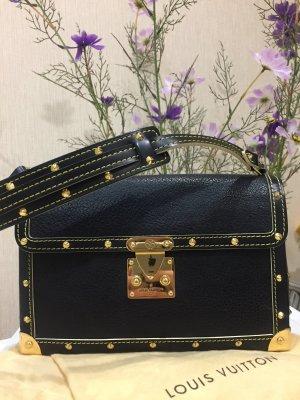 Louis Vuitton Bolso barrel negro-color oro