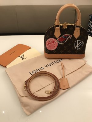 Original Louis Vuitton Tasche Alma bb World Tour