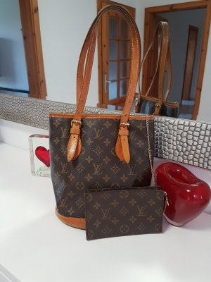 Original Louis Vuitton Tasche Bucket PM