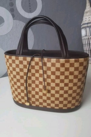 Original Louis Vuitton Tasche Damier Sauvage Impala Pony Hair