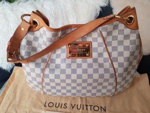 Original Louis Vuitton Tasche Galliera Damier Azur mit Rechnung & Staubbeutel