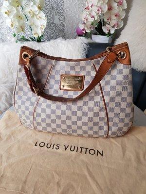 Original Louis Vuitton Tasche Galliera Damier Azur & Staubbeutel