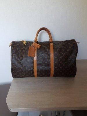 Louis Vuitton Sac de voyage brun-brun foncé