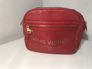 Louis Vuitton Bolso color oro-rojo