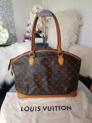 Original Louis Vuitton Tasche Lockit GM Horizontal & Staubbeutel