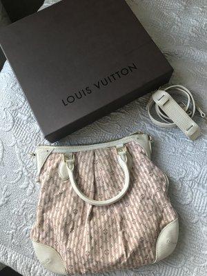 Louis Vuitton Bolsa Hobo blanco-rosa