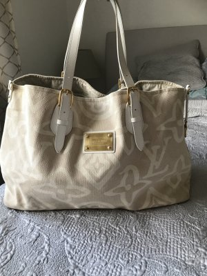 Louis Vuitton Shopper blanc-beige