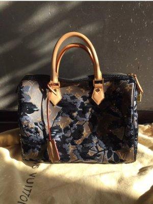 Original Louis Vuitton Tasche Speedy fleur de jais mit Rechnung