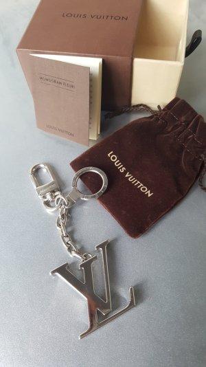 Original Louis Vuitton Taschenanhänger silber NEU & Zertifikat & Staubbeutel