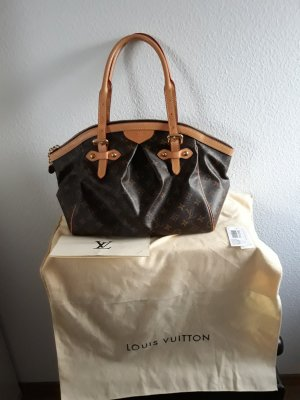 Louis Vuitton Schoudertas lichtbruin-bruin