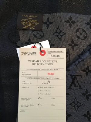 Original Louis Vuitton Tuch * Monogram Shine * ungetragen