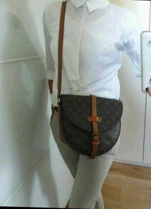 Louis Vuitton Crossbody bag bronze-colored leather