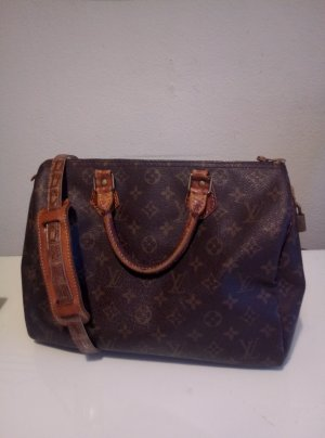 Original Louis Vuitton Vintage Speedy 30 + Riemen mit Schulterstopper