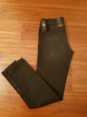 Original Luisa Cerano Jeans dunkelgrau / schwarz Gr. 42 neu