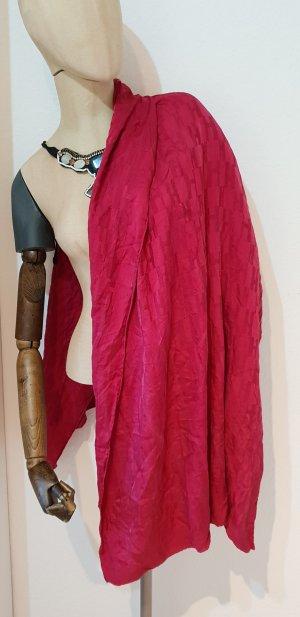 Hermès Bufanda de seda rojo-rojo oscuro
