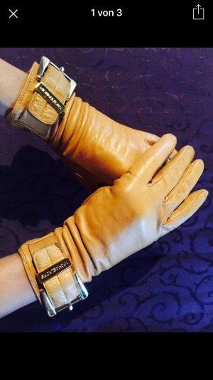 Original Luxus Michael Kors Leder Handschuhe