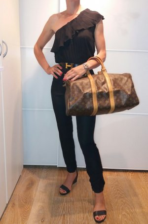 Louis Vuitton Bagage lichtbruin-donkerbruin