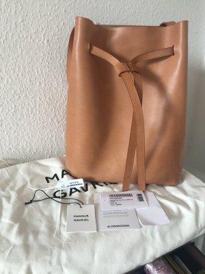Original Mansur Gavriel Bucket Bag Hobo Tasche wNeu natur 798€ Beutel
