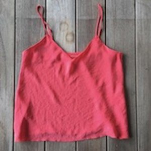 Marc Cain Spaghetti Strap Top pink-raspberry-red