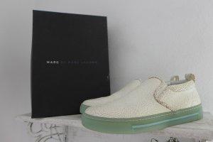 Original Marc Jacobs Schuhe Blogger Schlupfschuhe Slipper Leder weiß 39 top